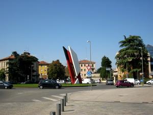 Reggio  Emilia piazza Duca D'Aosta