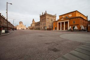 Piazza Dei Martiri a Carpi