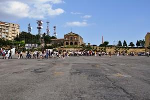 """Piazza Europa: """"Raduno di giovani nel baricentro di Sicilia"""""""