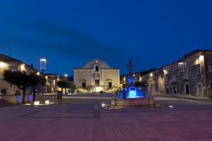 La bella piazza di Cerreto