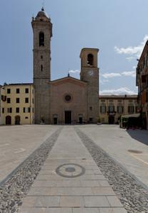 Piazza Duomo di Bobbio