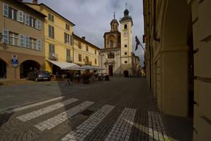 San Damiano : Piazza Libertà.