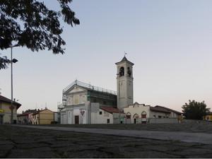 piazza 1° Novembre Marzano ristrutturazione chiesa