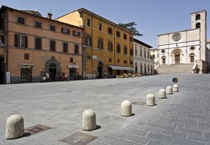La piazza del popolo