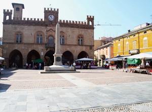 La piazza di Fidenza