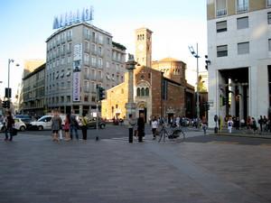Milano piazza S.Babila