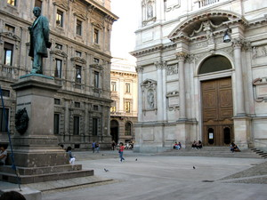 Milano piazza S.Fedele