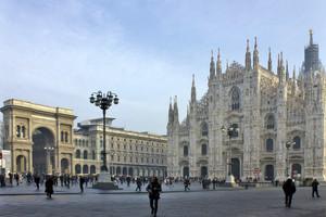 Milano – La Piazza del Duomo