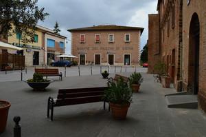 Piazza…a Buonconvento