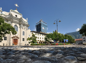 Pietre Fluviali in Piazza Gries