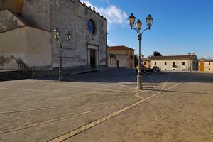 Piazza Chiesa – Nuraminis