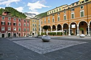 Un angolo di Piazza Alberica