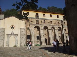 Piazza del Santuario di Polsi