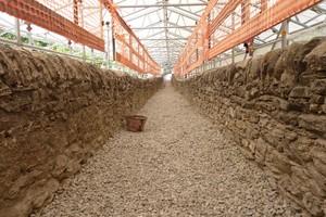 ponte-acquedotto romano chiuso per lavori in corso