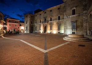 Acquasparta Piazza Federico Cesi