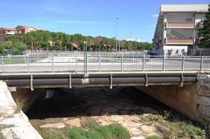 Ponte di Via Piave, sul torrente Vallone