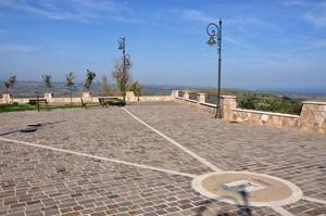 La panoramica Piazza Mario Tartaglia