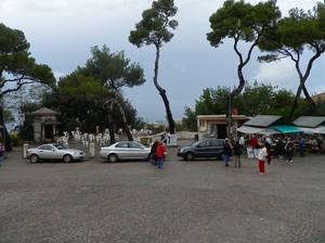Piazza Montenero:guardando verso il mare