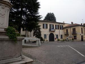 Piazza di Cassinetta di Lugagnano