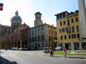 Reggio  Emilia piazza Gioberti