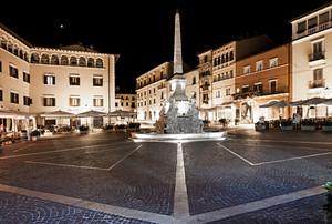 Piazza dell' Obelisco Notte