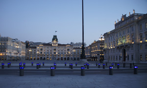 Piazza Unità al tramonto