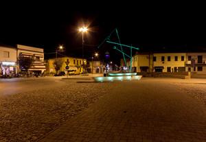 La piazza simbolo del paese