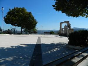 Piazza Padre Pio e il Monumento alla Famiglia