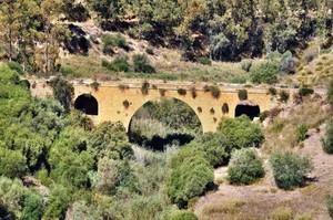 Ponte Morello, dal viadotto omonimo sulla SS122 Km 83