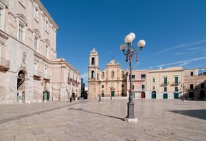 La piazza di Palo del Colle