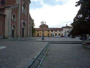 La piazza di Casorezzo