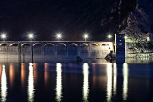 Ponte sulla Diga del Salto
