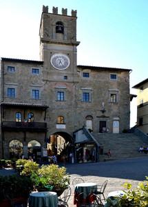 Piazza della Repubblica a Cortona
