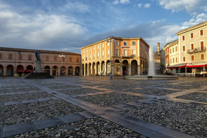 Piazza Garganelli (Dedicata alla cara Jenifer)