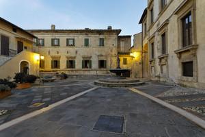 Piazza Risorgimento di Collescipoli
