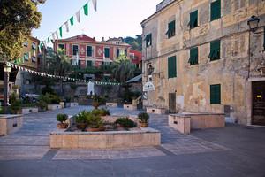 Finalborgo  piazza