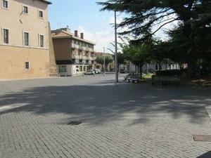 La piazza XIX Marzo di Cisterna di Latina