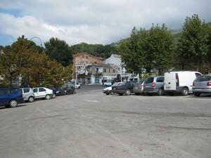 La piazza di Cori Valle