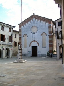 ''Piazza Maggiore (o Vittorio Emanuele II)**Portobuffolè (TV)'' - Portobuffolè