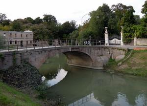 Ponte sul canale Taglio