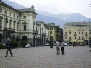 Piazza Chanoux di Aosta