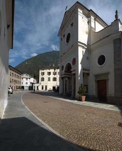 Piazza della Chiesa di San Martino a Tirano