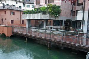 ponte con mulino ad acqua