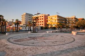 Piazzale Roma di Misano Adriatico