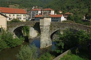il vecchio ponte di Rossiglione