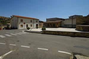 La piazza dedicata a Cavour