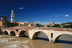 Quanta acqua sotto questo ponte!