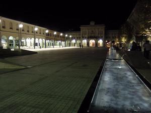 Piazza Indipendenza rifatta a nuovo.
