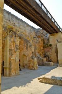 Prospetto della Passerella sulle Mura