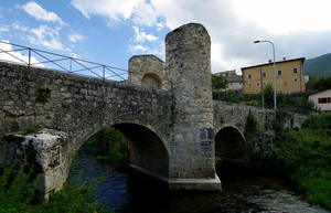 Ponte romano a Campana